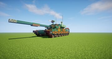Type 99 Main Battle Tank Minecraft Map & Project