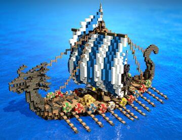 Viking Drakkar Minecraft Map & Project