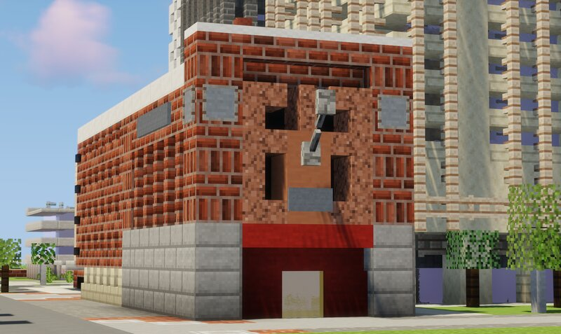 This American-style firehouse demonstrates how one can pull off a recognisable building in this scale.