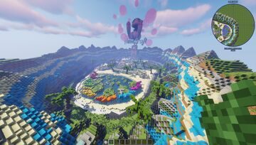 AsiaCraft Pixelmon Spawn - Completed Commission by MagmaTeam Minecraft Map & Project