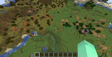 Seed: Double Villages Next To Each Other + Ruined Portal in One of The Villages Minecraft Map & Project