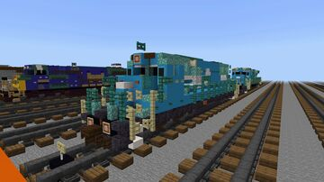 Conrail 3 Locomotive pack #1 Minecraft Map & Project