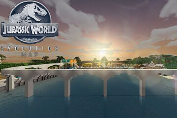 Jurassic World Evolution - Dinosaur Map Minecraft Map & Project