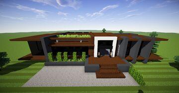 Medium Modern House #4 (Map Download) 🏡 Minecraft Map & Project