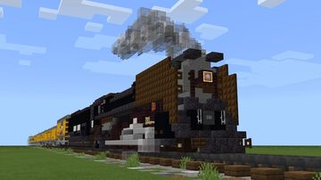 Union Pacific FEF-3 4-8-4 Northern 844 Minecraft Map & Project