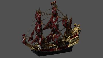 The Black Pearl & Queen Anne's Revenge Minecraft Map & Project