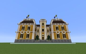 Baroque-Style Library Minecraft Map & Project