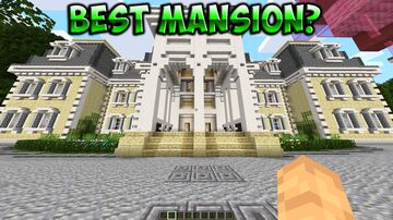 Large & luxurious Royal Mega Mansion + Real Tree House (Upgraded) Minecraft Map & Project