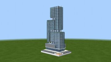 Ore Central Tower - BGC Taguig, Philippines Minecraft Map & Project