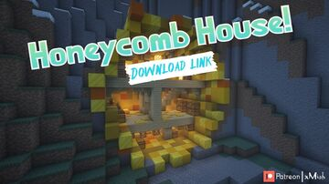 Honeycomb House! (1.16.X - 1.17.X) [Download Link] Minecraft Map & Project