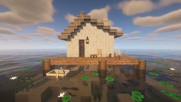 simple home on the water Minecraft Map & Project