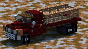 Chevrolet 6400 truck [With Download] Minecraft Map & Project