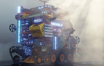Cyberpunk City(CmC) Minecraft Map & Project