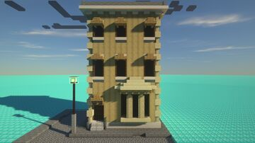 Townhouse Minecraft Map & Project