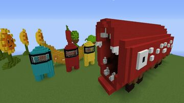 Train Eater Minecraft Map & Project