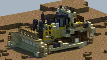Cat D11 Dozer [With Download] Minecraft Map & Project