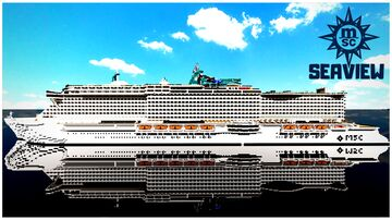 MSC Seaview 1:1 With Interiors + DOWNLOAD Minecraft Map & Project