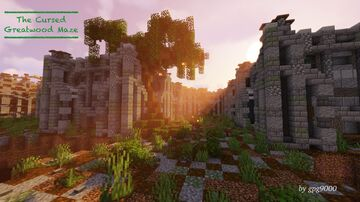 The Cursed Greatwood Maze Minecraft Map & Project