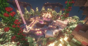 Sci-Fi   Fantasy   Ailen Themed Factions Spawn Minecraft Map & Project