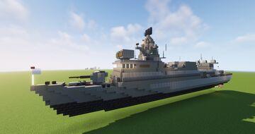 Themistocles Class Corvette (Sa,ar 72) Minecraft Map & Project