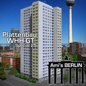 Berlin-Apartments-Plattenbau-WHH-GT25 Minecraft Map & Project