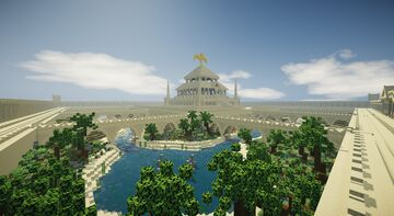 Egyptian Palace / Pyramid [IN PROGRESS] Minecraft Map & Project