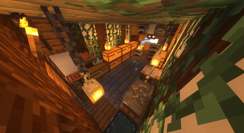 """recreation of the technoblade""""s base (dream.smp)"""