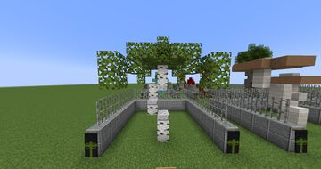Trees And Plants Minecraft Map & Project