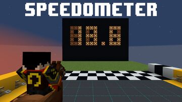 Horse Speedometer Minecraft Map & Project