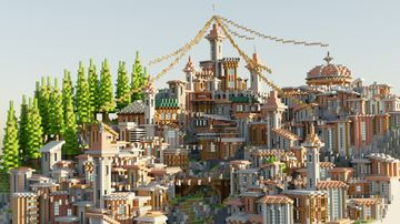 Rustic City Centre | Aderlyon Build Team Minecraft Map & Project