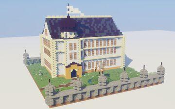 Google Castle Minecraft Map & Project