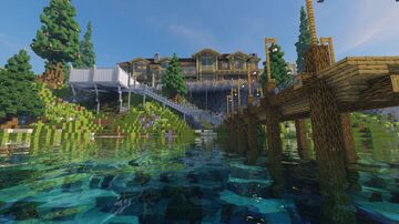 Ellison Estate [1.16.1] Minecraft Map & Project