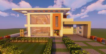 Top 5 Modern House #5 (Map + Schematics) Pt4 Minecraft Map & Project