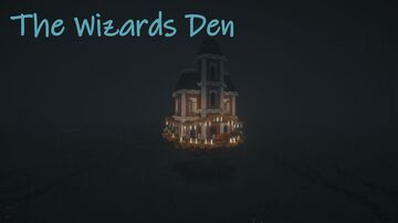 Wizards Den - Custom House Minecraft Map & Project