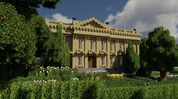 Senate House, Cambridge Minecraft Map & Project