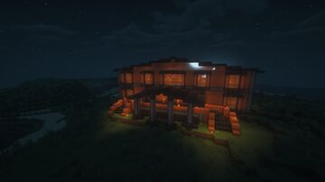 Spooky mansion Minecraft Map & Project