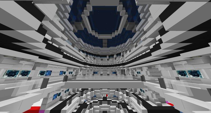 Main saucer atrium