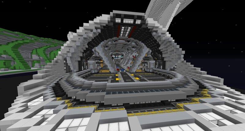 Shuttlebay Doors Open