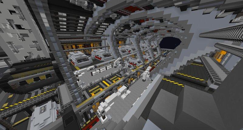 Inside the Shuttlebay