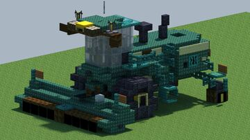 John Deere W260 Self propelled Windrower [With Download] Minecraft Map & Project