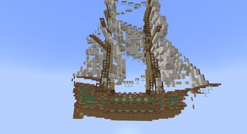 Pink Ship Minecraft Map & Project