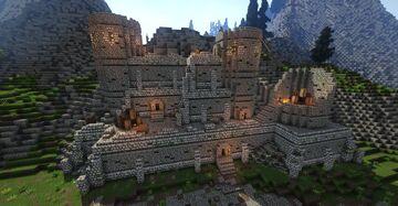 Broken Tower Redoubt (Skyrim TES) Minecraft Map & Project