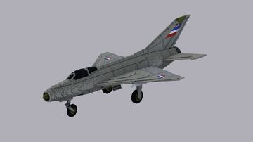 MiG-21 F-13 Minecraft Map & Project