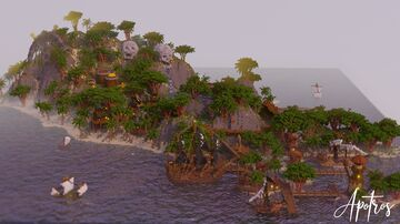 Pirate Lair - Buccaneer Bay Minecraft Map & Project