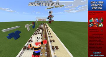Bonetrousle Minecraft Map & Project