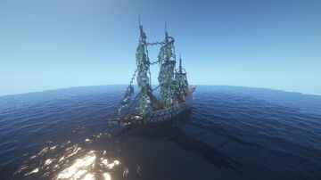 The Flying Dutchman Ship (Only) Minecraft Map & Project