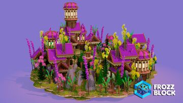 Customs End HCF Minecraft Map & Project