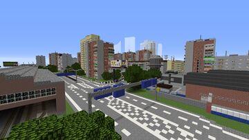 REGION 512 I RUSSIAN OPEN WORLD Minecraft Map & Project