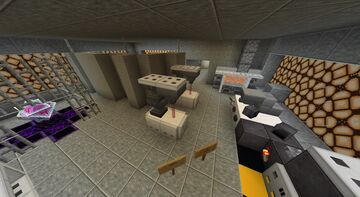 Summa Post-Attack Command and Control Facility Minecraft Map & Project