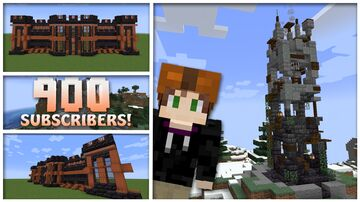 Broken 1.17 Nether Tower Minecraft Map & Project